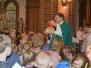Msza św. z poświęceniem różańców, AUREOLKA św. Franciszek, 1.10.2017