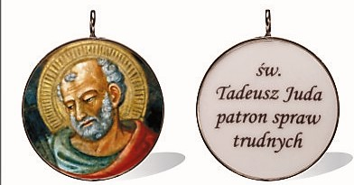 wizerunek medalik